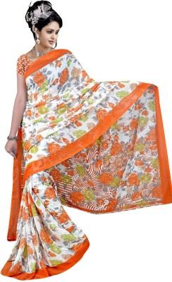 Laxminath Printed Fashion Chiffon Sari