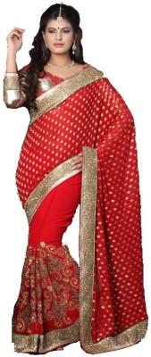 Stylezone Embriodered Fashion Viscose Sari