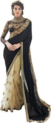 Diva Divine Embriodered Fashion Net, Georgette Sari