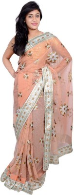 MSS Embriodered Bollywood Net Sari