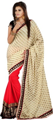 V Star Self Design Bollywood Viscose Sari