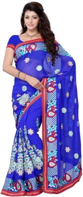 JTInternational Self Design Fashion Georgette Sari