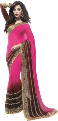 Brijraj Embellished Fashion Chiffon Sari