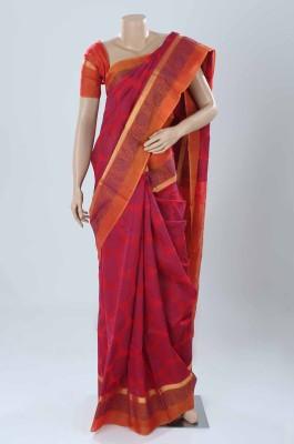 BEAUVILLE VAIIBAVAM Woven Coimbatore Silk Cotton Blend Sari