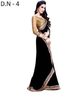 Mamta Synthetic Embellished Fashion Handloom Chiffon Sari