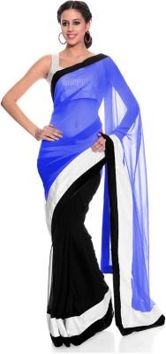 Fashion And Hub Self Design Bollywood Georgette Sari