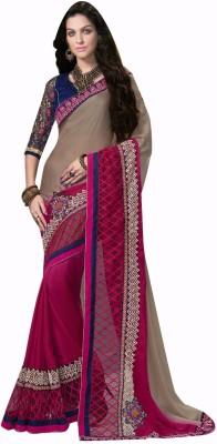 Shop Avenue Embellished Fashion Georgette Sari