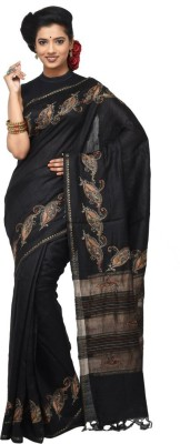 Rene Woven Fashion Handloom Tussar Silk Sari