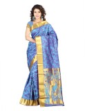 Varkala Silk Sarees Woven Kanjivaram Jac...