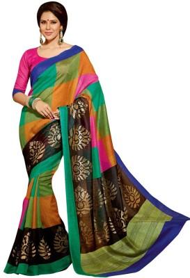 Sonakshi Sarees Printed Bhagalpuri Silk Sari
