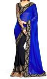 Govindam Embriodered Fashion Chiffon Sar...