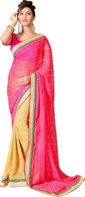 Aarvi Stylishte Printed Fashion Chiffon Sari