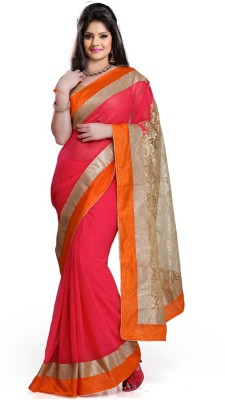 Yati Self Design Fashion Georgette Sari