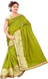 R D Fab Self Design Fashion Art Silk Sar...