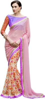 Anwesha Saree Embriodered Fashion Cotton Linen Blend Sari