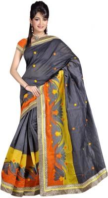 StyleOn Fashion Embriodered Bollywood Georgette Sari