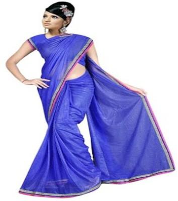 DWM Plain Bollywood Viscose Sari