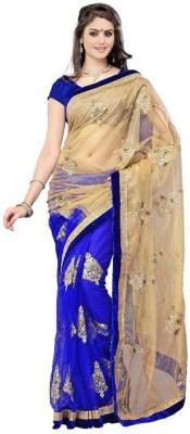 Mysticbeauty Embriodered Bollywood Net Sari