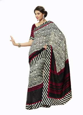 Nayra Fashion Printed Fashion Art Silk Sari
