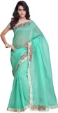 Prafful Embellished Fashion Net Sari