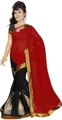 Shreebhole Embriodered Bollywood Chiffon Sari