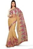 Roop Kashish Embellished Fashion Net Sar...