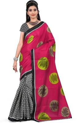 Divazz Printed Bhagalpuri Silk Sari