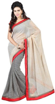 Pichkaree Self Design Daily Wear Georgette Sari