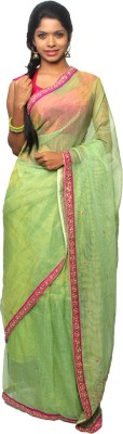 Avantika Embellished, Embriodered Fashion Handloom Kota Cotton Sari