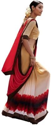 Kintu Designs Pvt. Ltd. Printed Fashion Georgette Sari