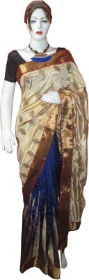CHARVI Embriodered Murshidabad Silk Sari