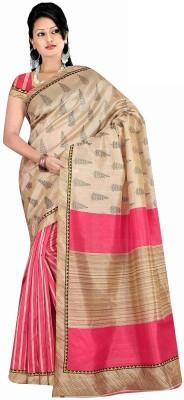 Pratistha Fashion Printed Bhagalpuri Art Silk Sari