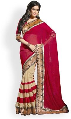 Shripati Embriodered Bollywood Chiffon Sari