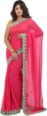 Jasmine Silk Embellished Fashion Georgette Sari