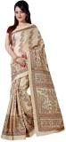 Vbuyz Printed Daily Wear Silk Saree (Mul...