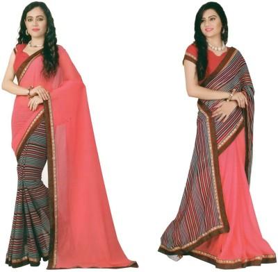 Jess Kreations Printed Fashion Georgette Sari