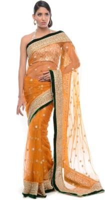 Aarohii Self Design Bollywood Net Sari