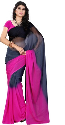 Online Adda Printed Fashion Georgette Sari