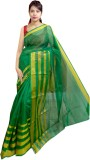 Tyra Sarees Woven Fashion Net Saree (Gre...