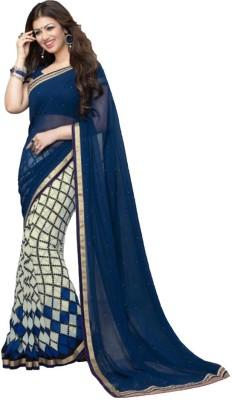 Beauty Choice Printed Bollywood Georgette Sari