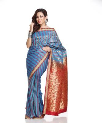 Aapno Rajasthan Solid Silk Sari
