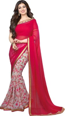 Supriya Fashion Floral Print Bollywood Georgette Sari