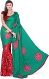 Araham Printed Bandhani Crepe Saree (Mul...