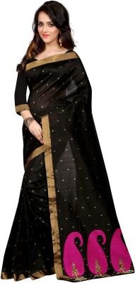 Style U Self Design Banarasi Polycotton Sari