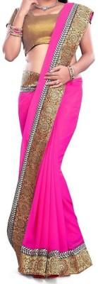 Shaurya Trendz Plain Fashion Cotton Sari
