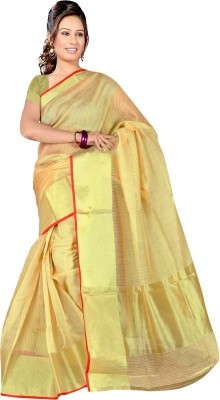 Richa Plain Fashion Kota Cotton Sari