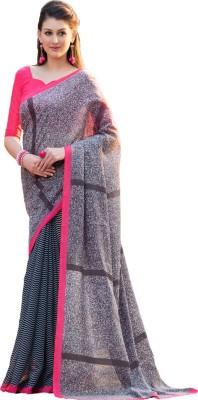 Way2 Self Design Chanderi Cotton Linen Blend Sari