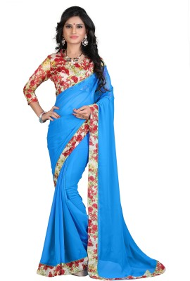 Velly Printed Bollywood Georgette Sari