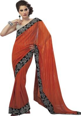 Sahiba Plain Fashion Chiffon Sari