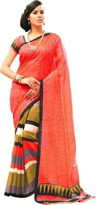 Wishcart Printed Bhagalpuri Cotton Sari